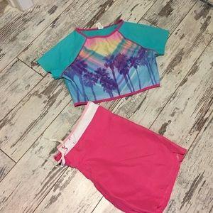Bundle of swim set and sundress